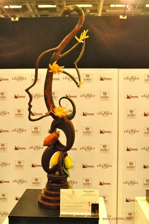 sculpture en chocolat commin photo web site. Black Bedroom Furniture Sets. Home Design Ideas